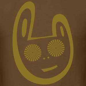 Golden Bunny T-shirt - Men's T-Shirt