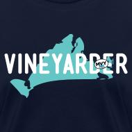 Design ~ Vineyarder w/ Island and MVY sticker