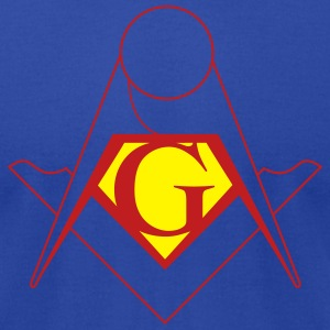 Superbro Mason - Men's T-Shirt by American Apparel