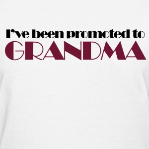Promoted to GRANDMA - Women's T-Shirt