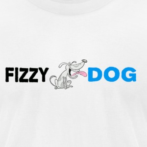 Fizzy Dog Brewery - Men's T-Shirt by American Apparel