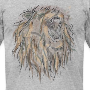 King Lion- Men - Men's T-Shirt by American Apparel