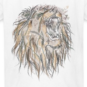 King Lion- Kids - Kids' T-Shirt