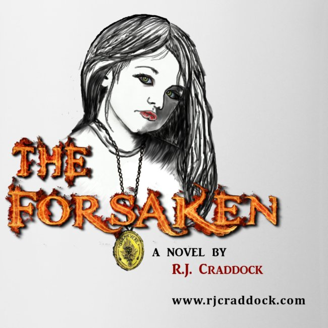 """The Forsaken"" with Gwen, Book Mug"