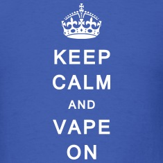 'Keep Calm & Vape On' Men's T-Shirt