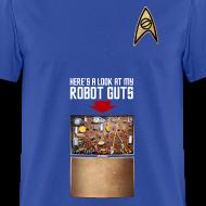 Design ~ Robot Guts (Blue)