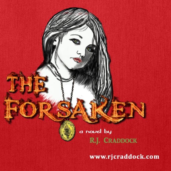 """""""The Forsaken"""" book tote"""