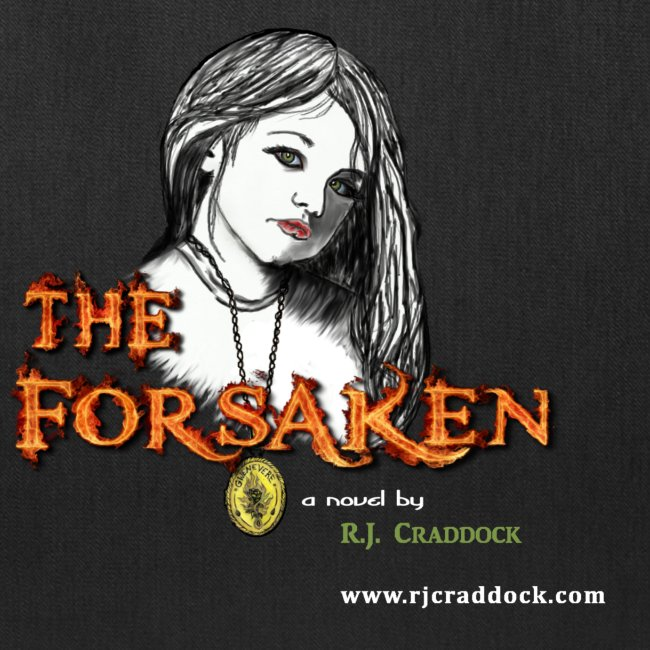 """The Forsaken"" book tote"