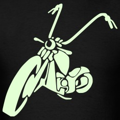 motorcycle chopper 1_ T-Shirts