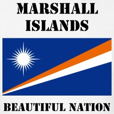 Marshall Islands Flag + Text T-Shirt