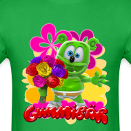 Design ~ Gummibär Flowers Men's T-