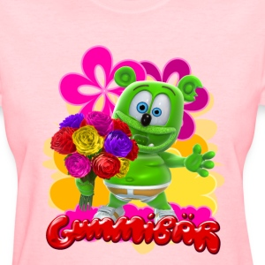 Gummibär Flowers Woman's T-Shirt - Women's T-Shirt