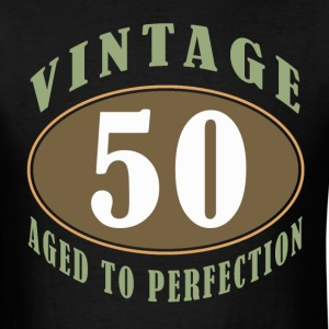 50th Birthday Vintage - Men's T-Shirt