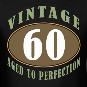 60th Birthday Vintage - Men's T-Shirt