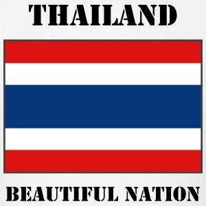 Thailand Flag + Text T-Shirt - Men's T-Shirt