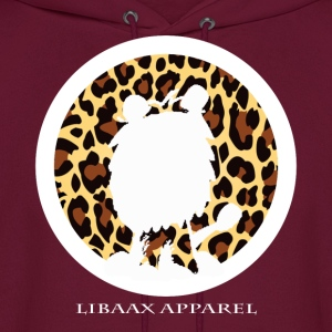 The Silhouette Logo in Leopard Print - Men's Hoodie