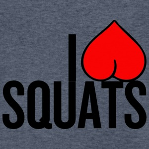 I Love Squats - Men's V-Neck T-Shirt by Canvas
