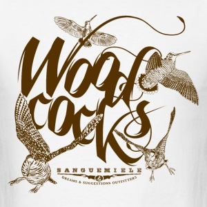 woodcocks_on_white T-Shirts - Men's T-Shirt
