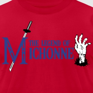 the_legend_of_michonne T-Shirts - Men's T-Shirt by American Apparel