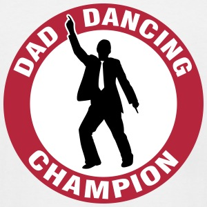 Dad Dancing Champion T-Shirts - Men's Tall T-Shirt