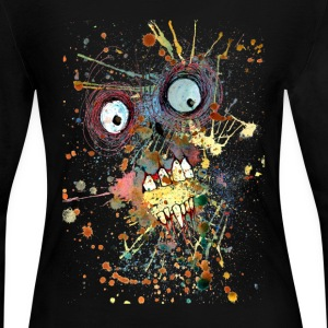 shocked zombie Long Sleeve Shirts - Women's Long Sleeve Jersey T-Shirt