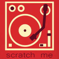 Design ~ I DJ - Scratch Me Turntable - 2 color flex