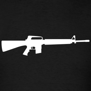 Assault Rifle T-Shirts - Men's T-Shirt