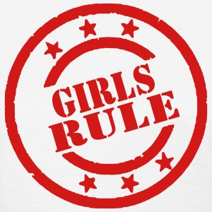 GIRLS RULE - Women's T-Shirt