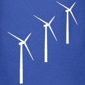 3 wind turbines T-Shirts - Men's T-Shirt