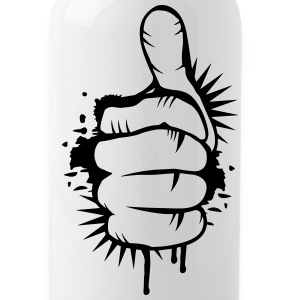 Hand with thumb up Bottles & Mugs - Water Bottle