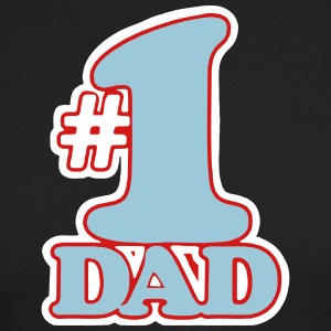 # 1 DAD Long Sleeve Shirts - Men's Long Sleeve T-Shirt by Next Level