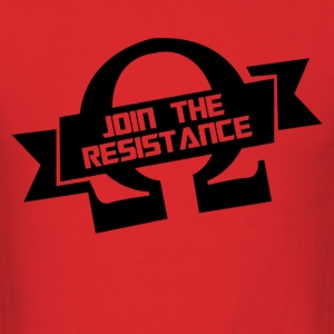 Funny Join The Resistance - Men's T-Shirt