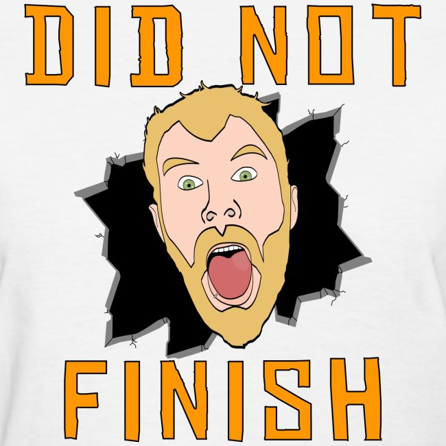 Women's Did Not Finish Shirt