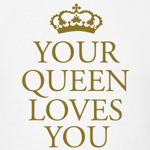 Gin O'Clock Your Queen Loves You Men's T-Shirt - Men's T-Shirt