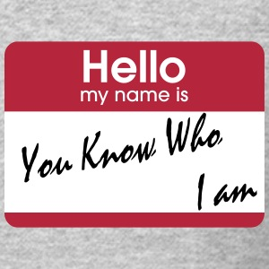 you know who i am Long Sleeve Shirts - Crewneck Sweatshirt