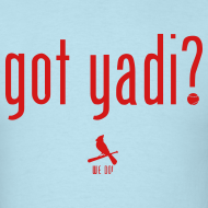 Design ~ Got Yadi? We Do. Blue