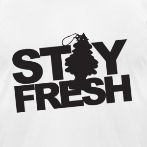 St4y Fr3sh T-Shirts - Men's T-Shirt by American Apparel