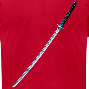 katana T-Shirts - Men's T-Shirt by American Apparel