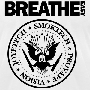 Breathe Easy Ramones Tee (American Apparel) - Men's T-Shirt by American Apparel