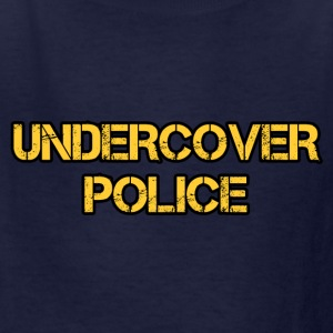 undercover police - Kids' T-Shirt