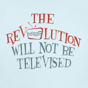 revolution will not be televised - Short Sleeve Baby Bodysuit