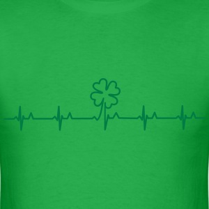 four-leafed clover beat (1c) T-Shirts - Men's T-Shirt