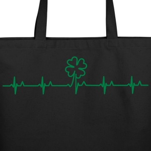 four-leafed clover beat (1c) Bags  - Eco-Friendly Cotton Tote