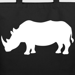 Rhino / Rhinoceros Safari 1c Bags  - Eco-Friendly Cotton Tote