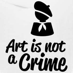 Art is not a Crime Caps - Bandana
