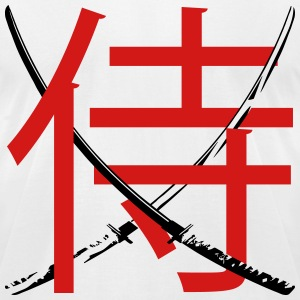 katana samurai T-Shirts - Men's T-Shirt by American Apparel