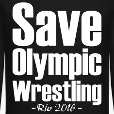 Save Olympic Wrestling Long Sleeve Shirts