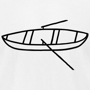 Rowboat - rowing T-Shirts - Men's T-Shirt by American Apparel