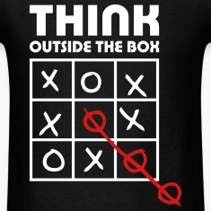 think outside box T-Shirts