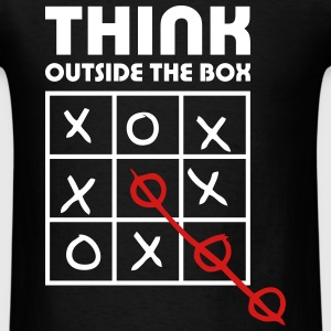 think outside box T-Shirts - Men's T-Shirt